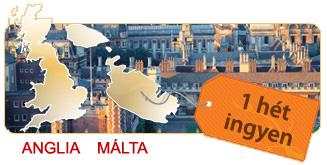 anglia, málta, nyelviskola, külföldi nyelvtanulás, nyelvtanfolyam
